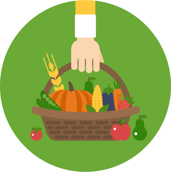 Farming clipart organic farming. Tema s rd r