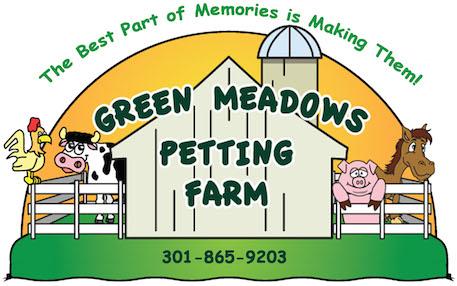 Farming clipart petting farm. Green meadows urbana md