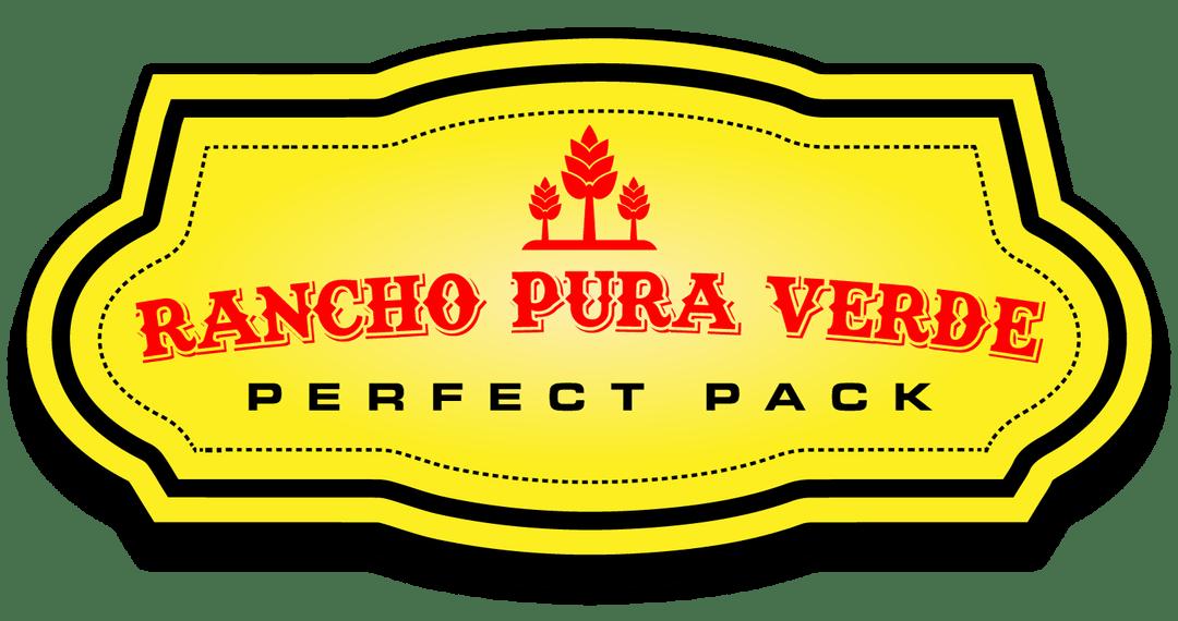 Cannabis nursery pura verde. Farming clipart rancho