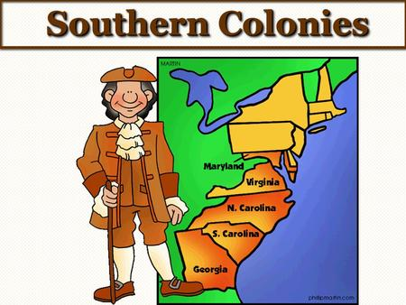 Chapter section notes the. Farming clipart southern colony