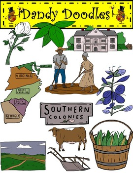 Colonies clip art by. Farming clipart southern colony