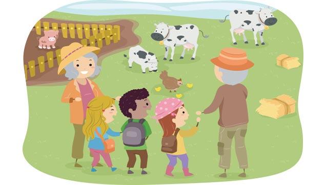 Farming clipart teacher. Fall farm trips teach
