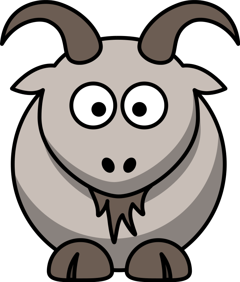Goat suggestions for download. Farming clipart tool