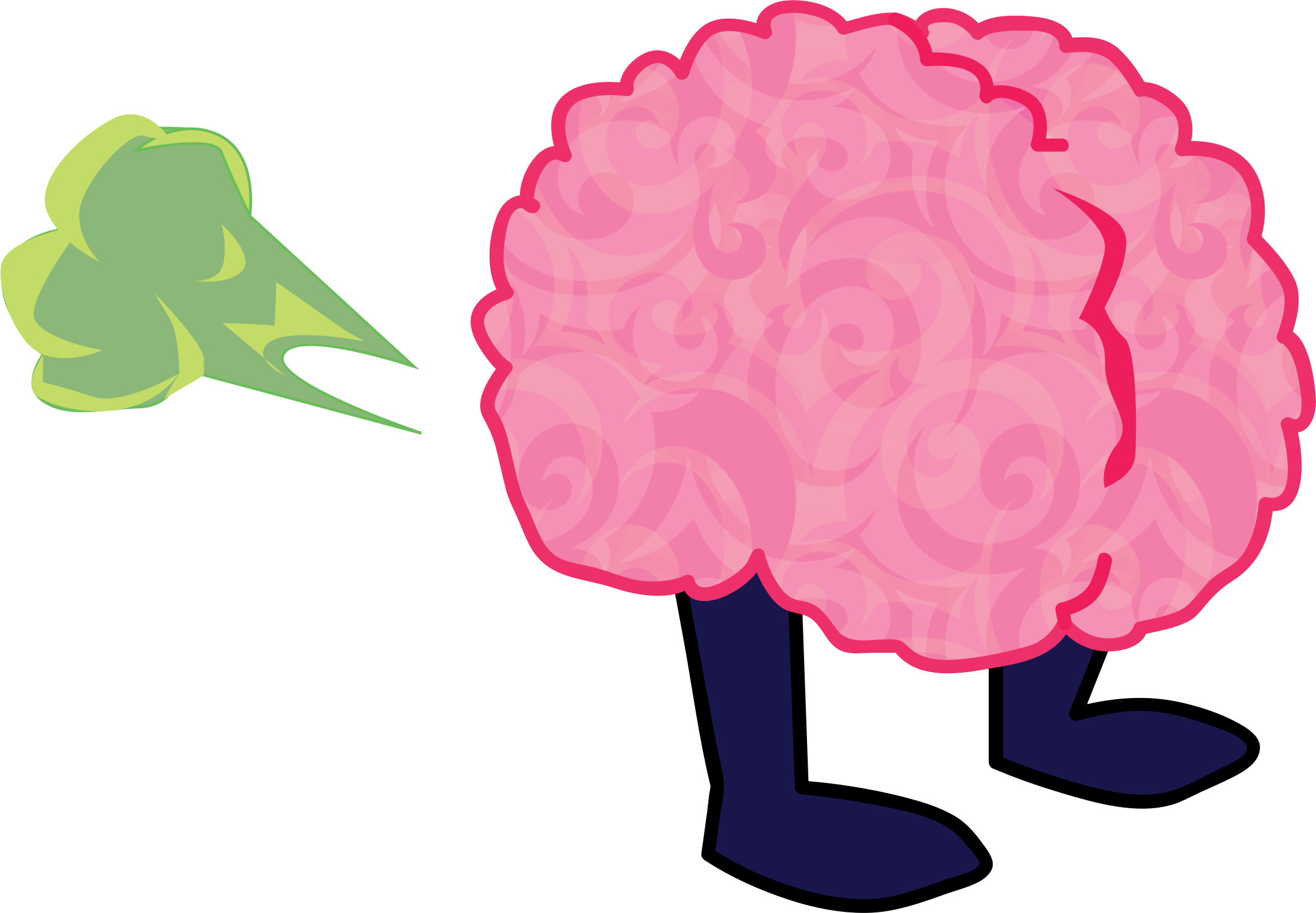 Brain big image png. Fart clipart