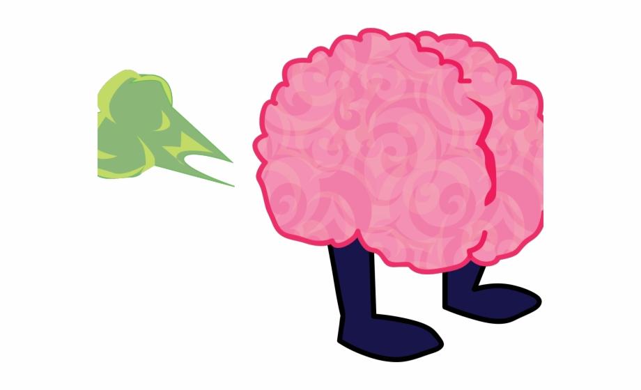 Brain cliparts animation pngtube. Fart clipart bird