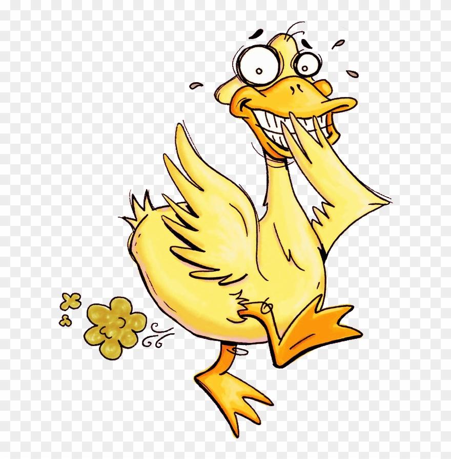 Fart clipart bird. Duck farting pinclipart