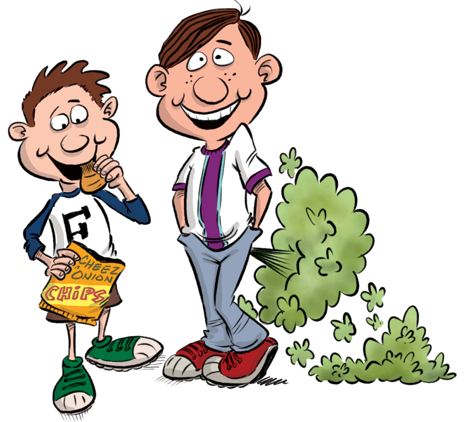 Brothers books the fantastic. Fart clipart boy