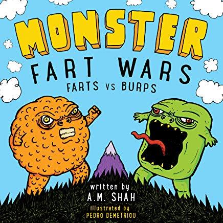 Amazon com monster wars. Fart clipart burp