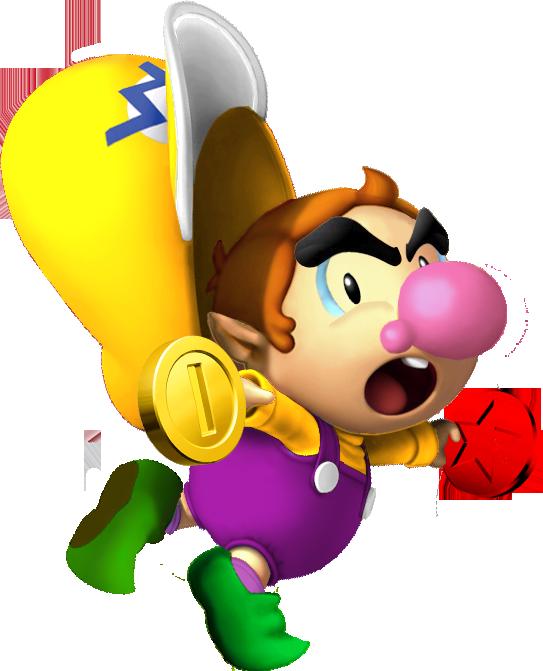 Mario clipart pitcher. Baby wario fantendo nintendo