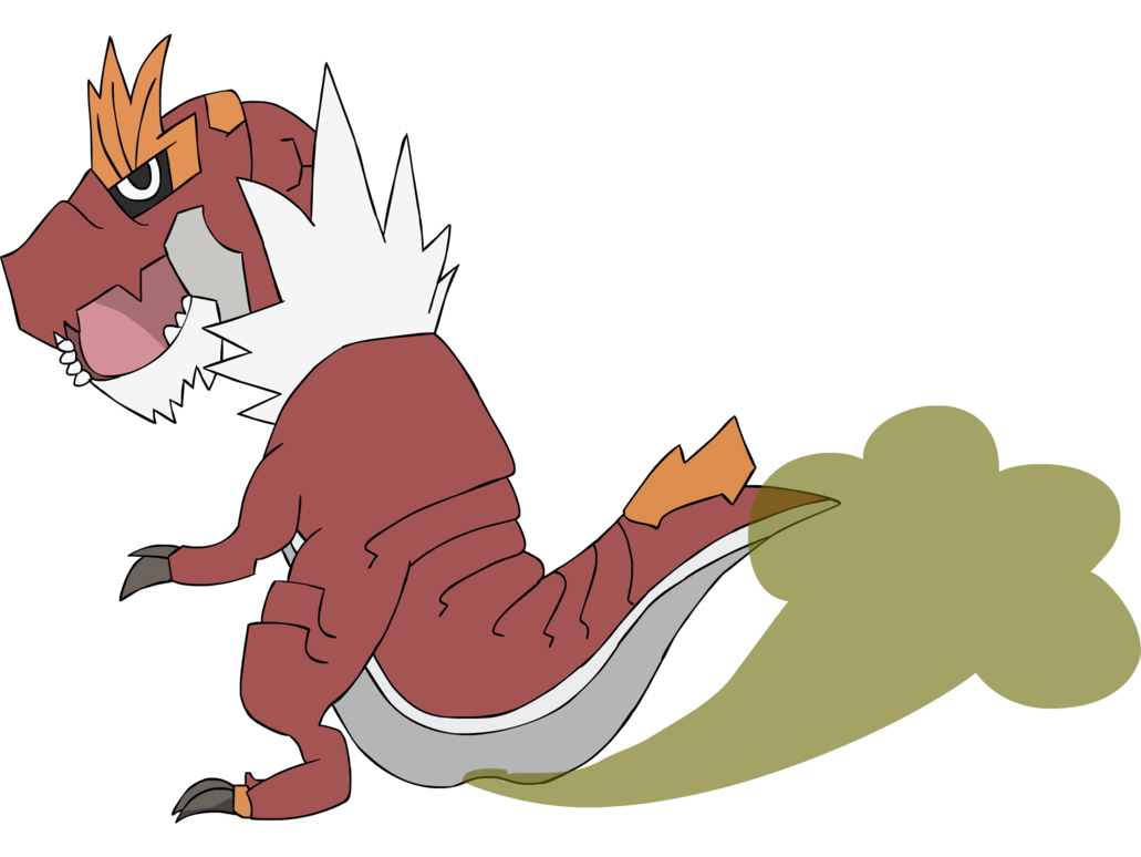 Queen tyrantrum by asctoons. Fart clipart drawing