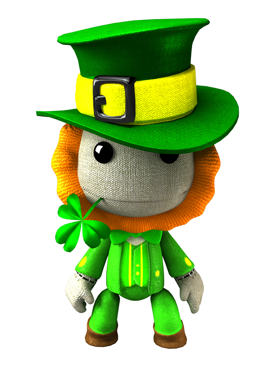 Image costume png littlebigplanet. Fart clipart leprechaun