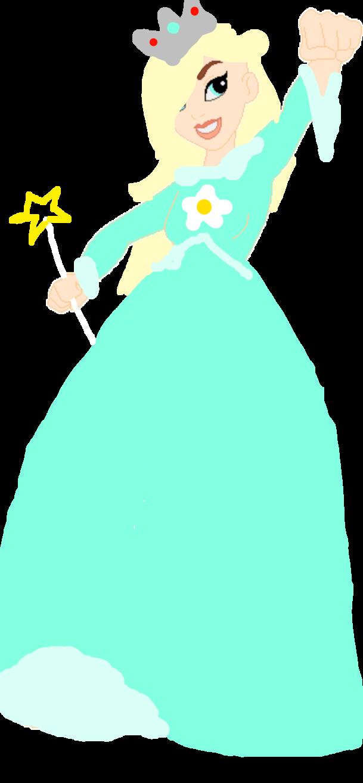 Rosalina in dc girls. Princess clipart superhero