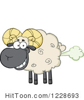 Royalty free stock illustrations. Fart clipart sheep