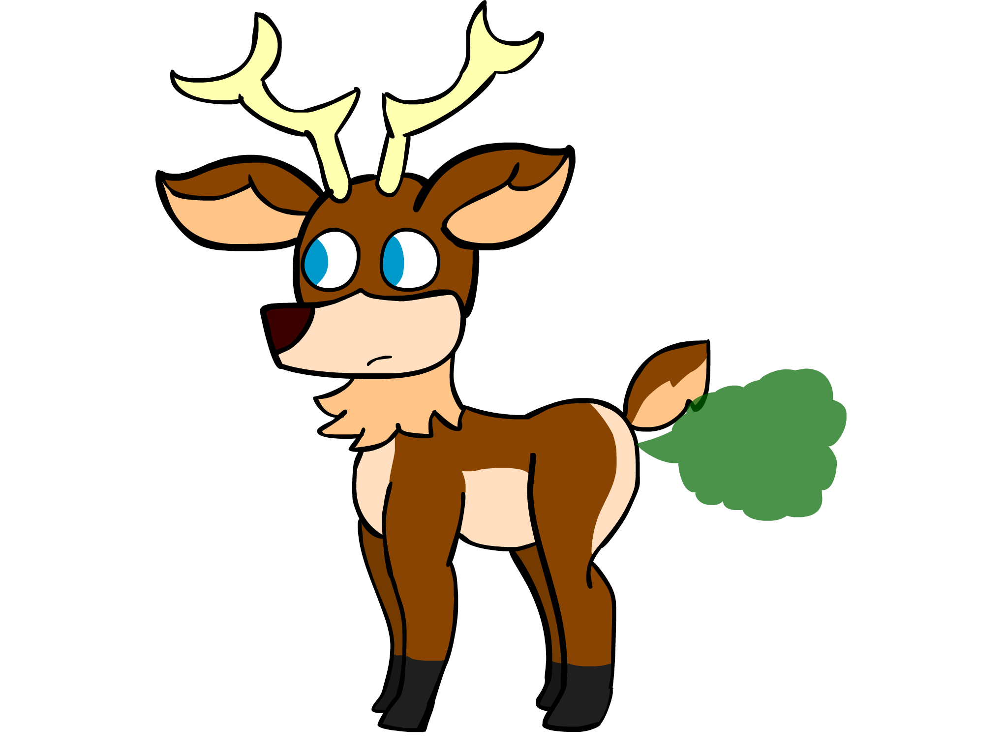 Rudolph by asctoons on. Fart clipart stink