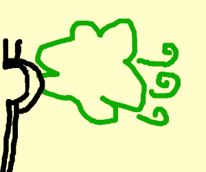 Wew that was a. Fart clipart windy