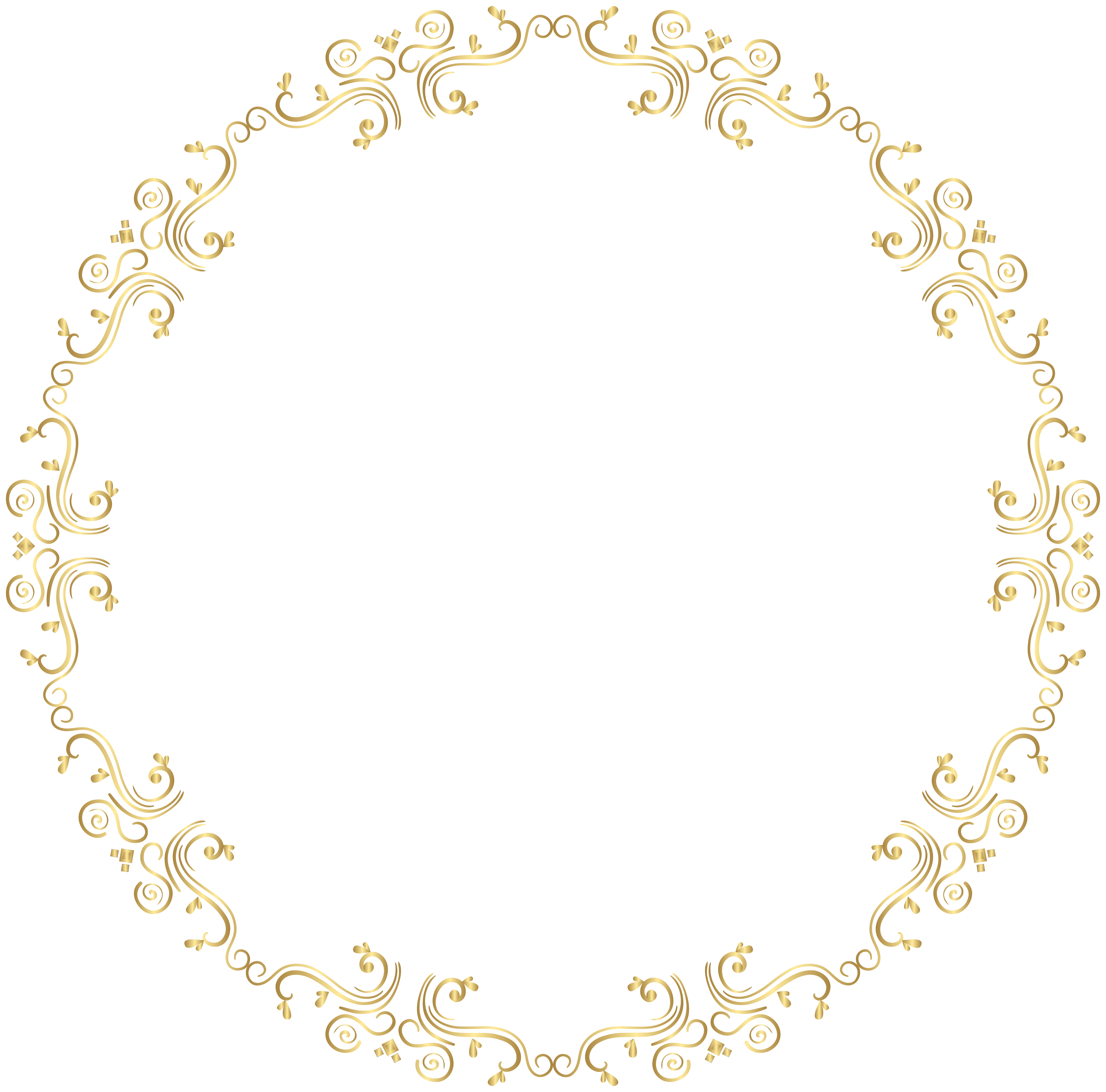 Round frame png clip. Fashion clipart border