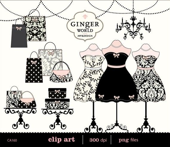 Fashion clipart boutique. Chic dressing room shopping