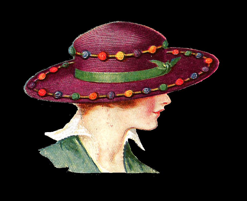 Fashion clipart church hat. Old clip art antique