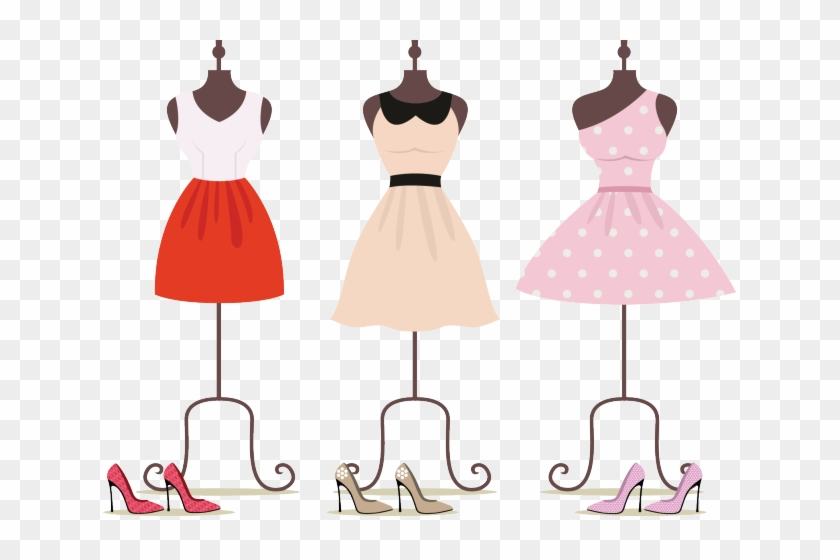 On hanger hd . Fashion clipart cocktail dress