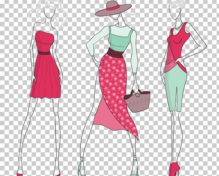Fashion clipart costume designer. Design illustration model png