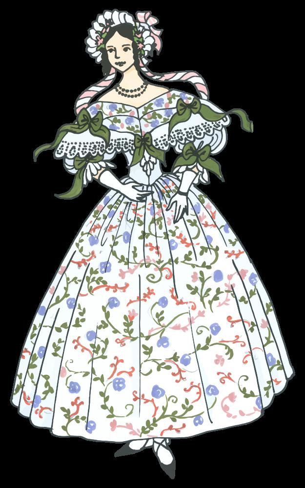 Fashion clipart costume designer. Onlinelabels clip art vintage