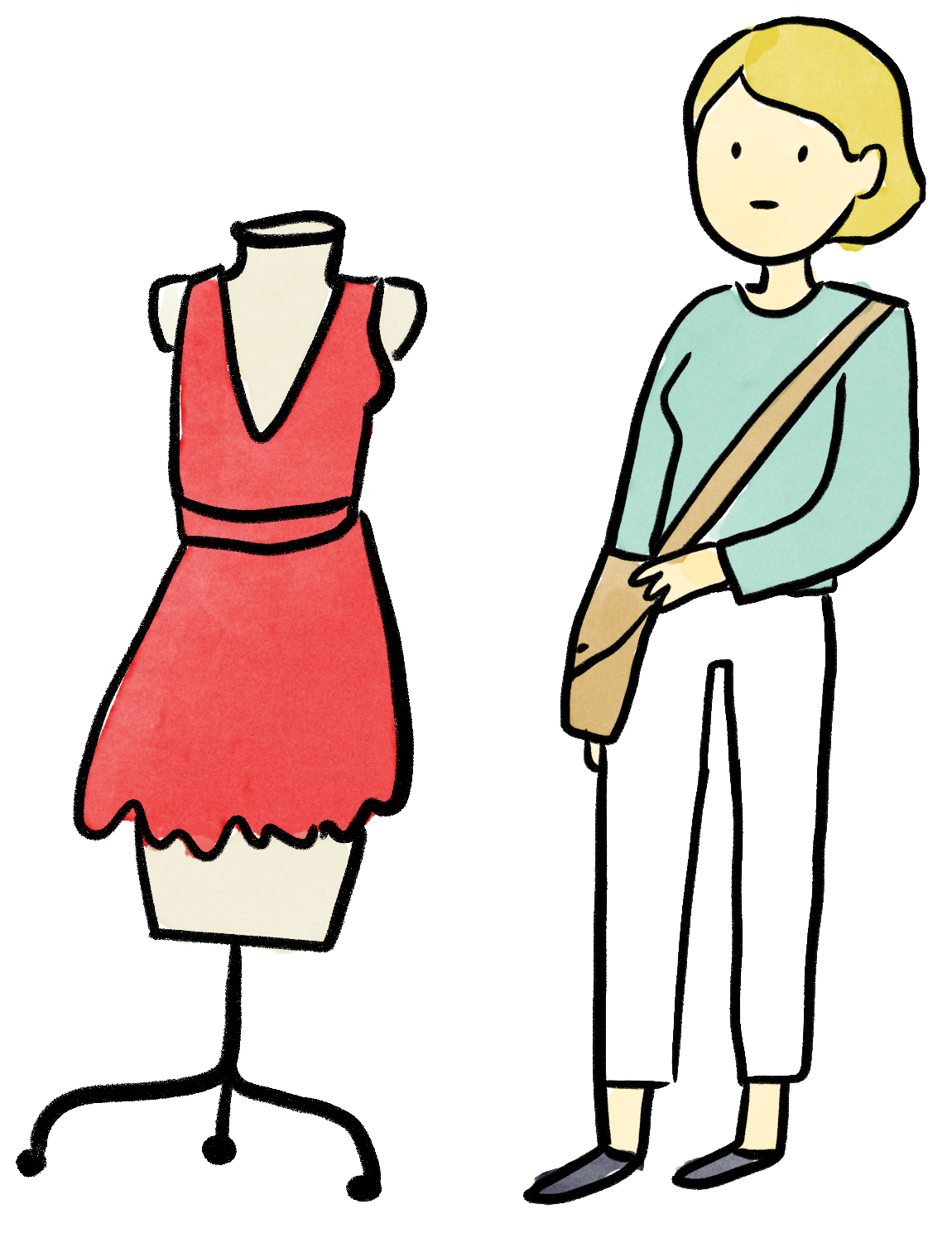 Follow your own english. Fashion clipart drees