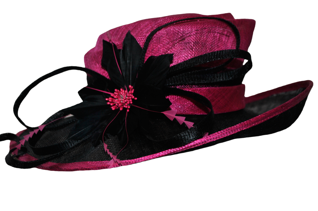 Pink by doloresmd d. Fashion clipart fancy hat
