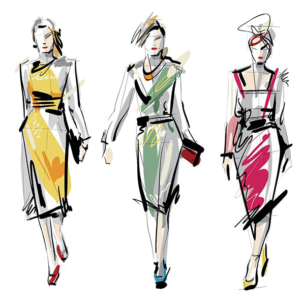 Fashion clipart fashion drawing. Home jewelry and more
