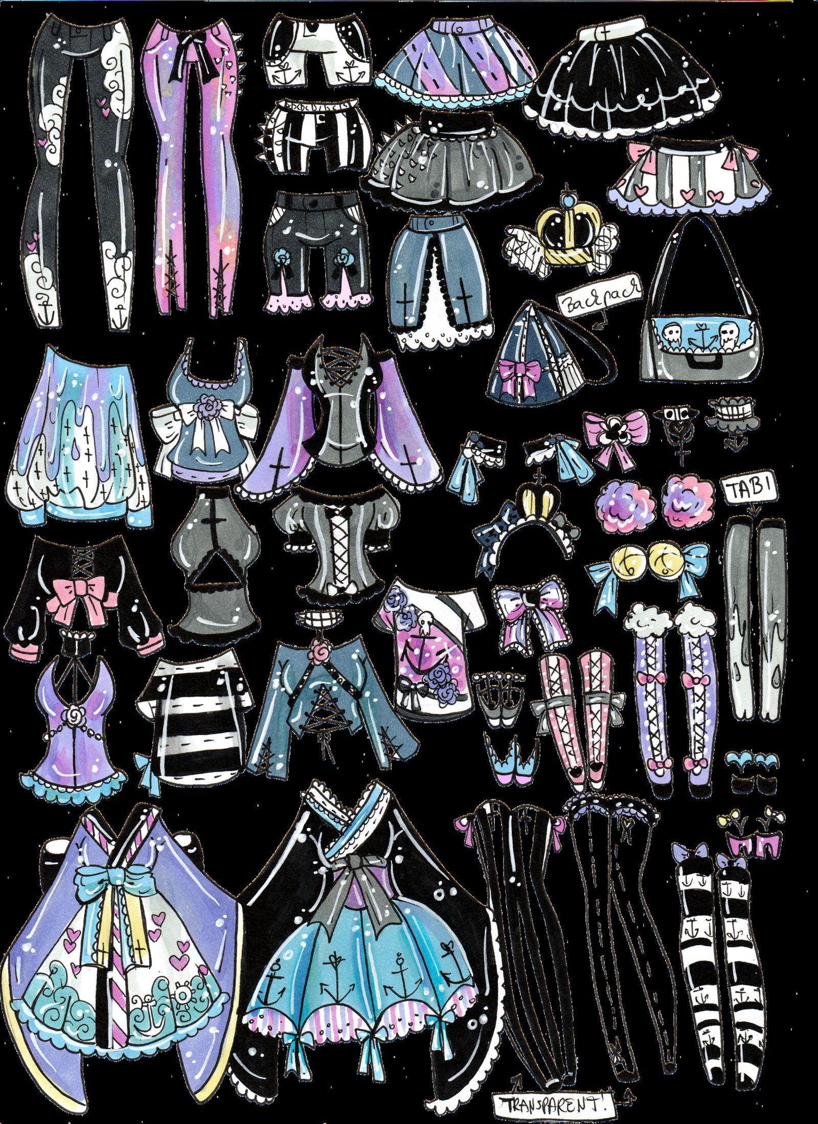 Fashion clipart fashion drawing. Custom mix and match