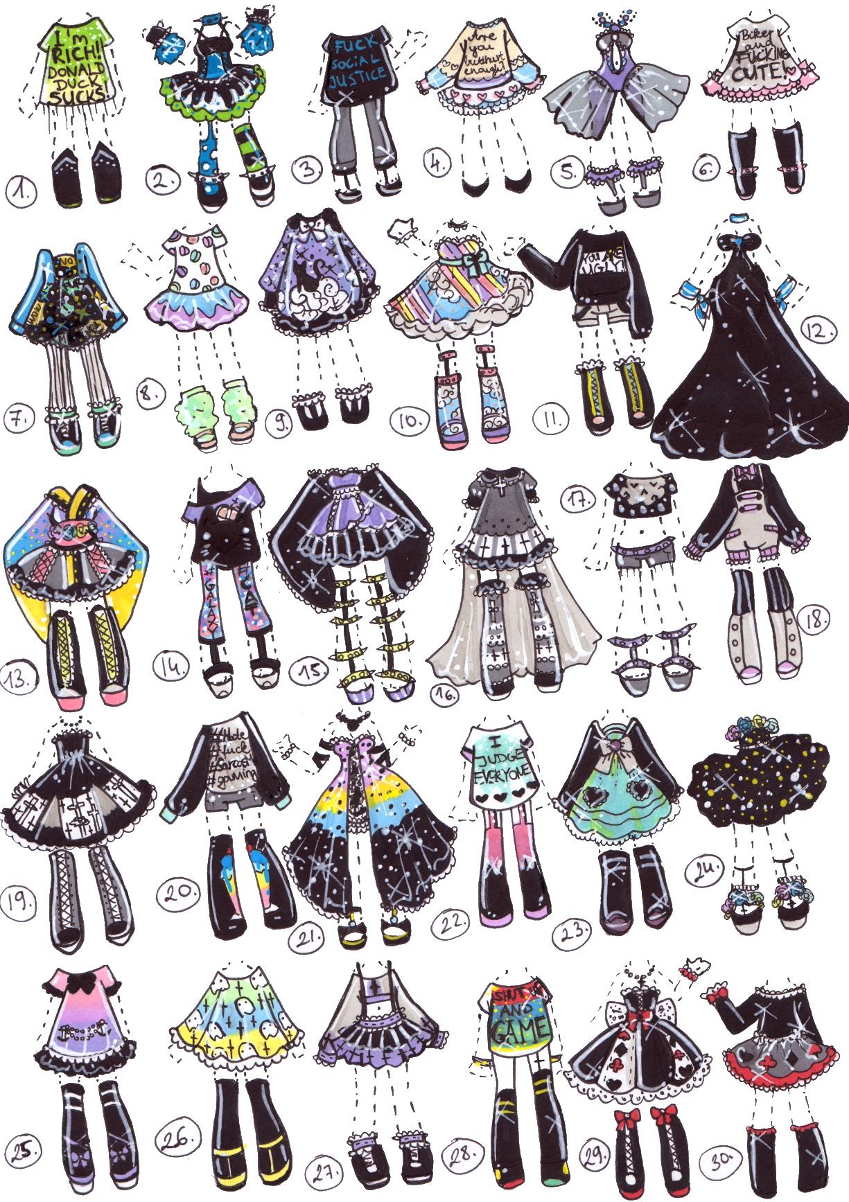 Pin ni sweet princess. Fashion clipart fashion drawing