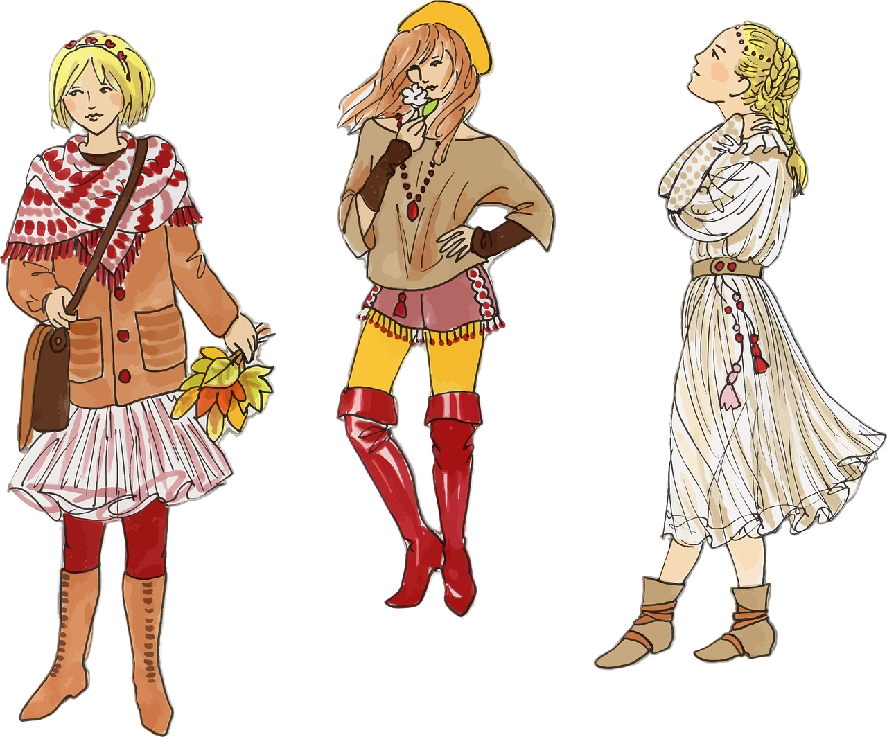 Use of illustrator in. Fashion clipart fashion drawing