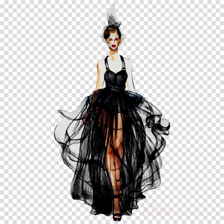 Watercolor sketch illustration . Fashion clipart fashion drawing