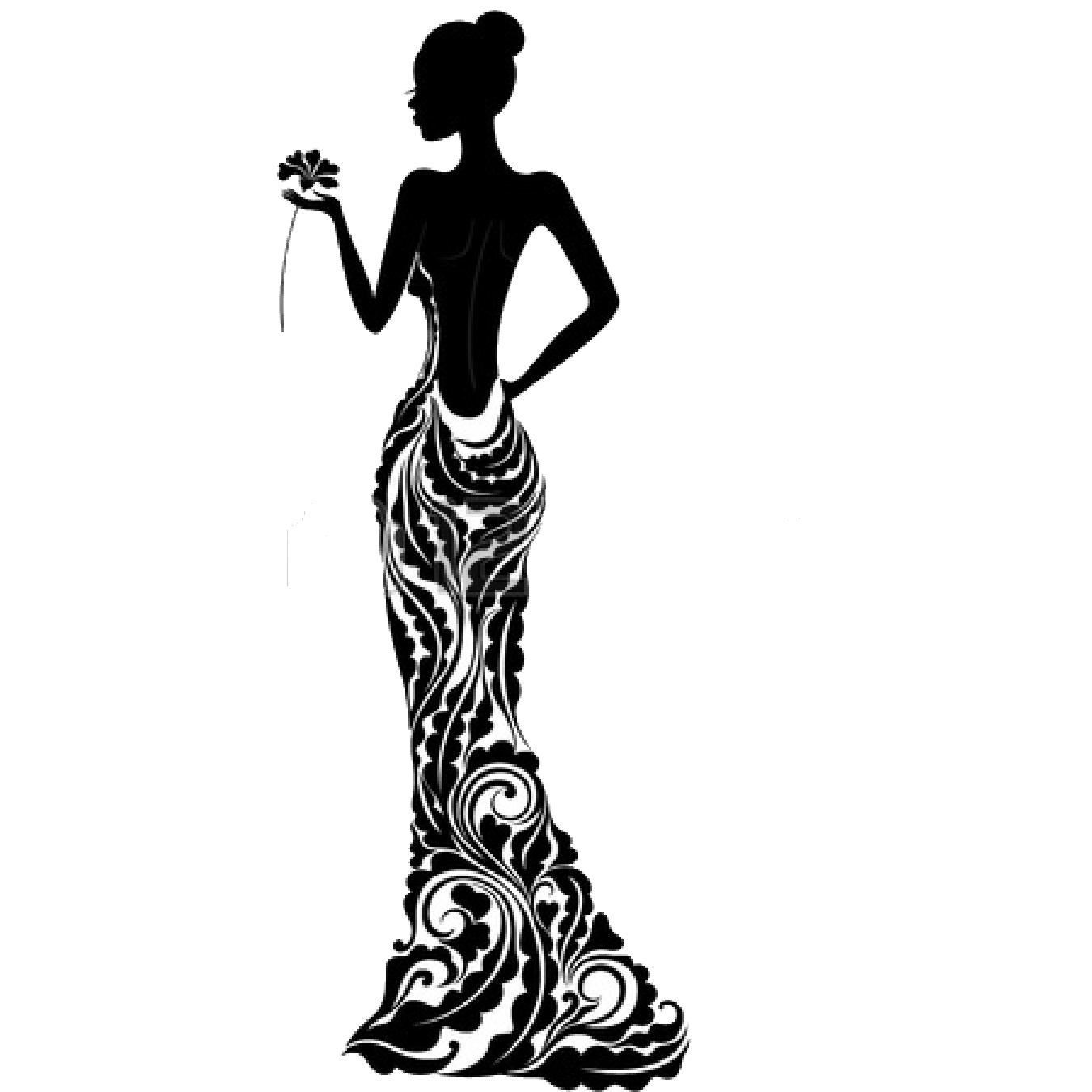 Fashion clipart fashion dummy. Mannequin silhouette at getdrawings