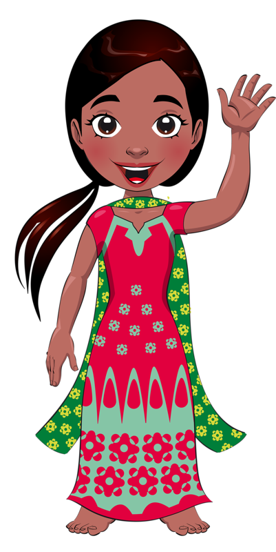 Fashion clipart fashion indian. Personnages illustration individu personne