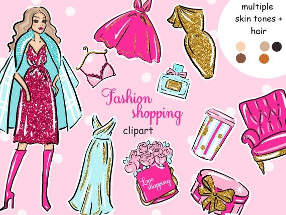 Shopping clip art blog. Fashion clipart fashion marketing