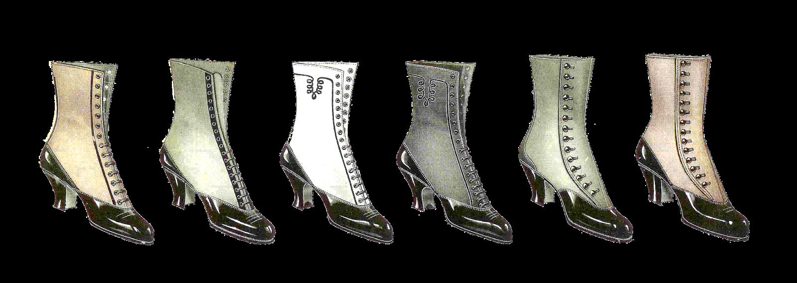 Antique images free clip. Fashion clipart fashion shoe