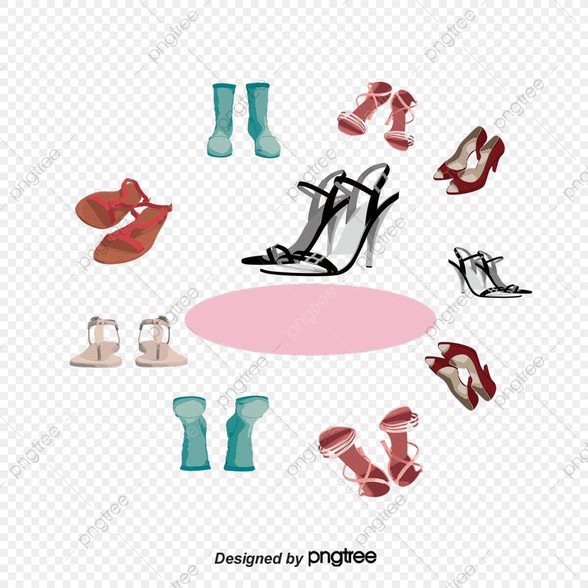 Shoes sandals png . Fashion clipart fashion shoe