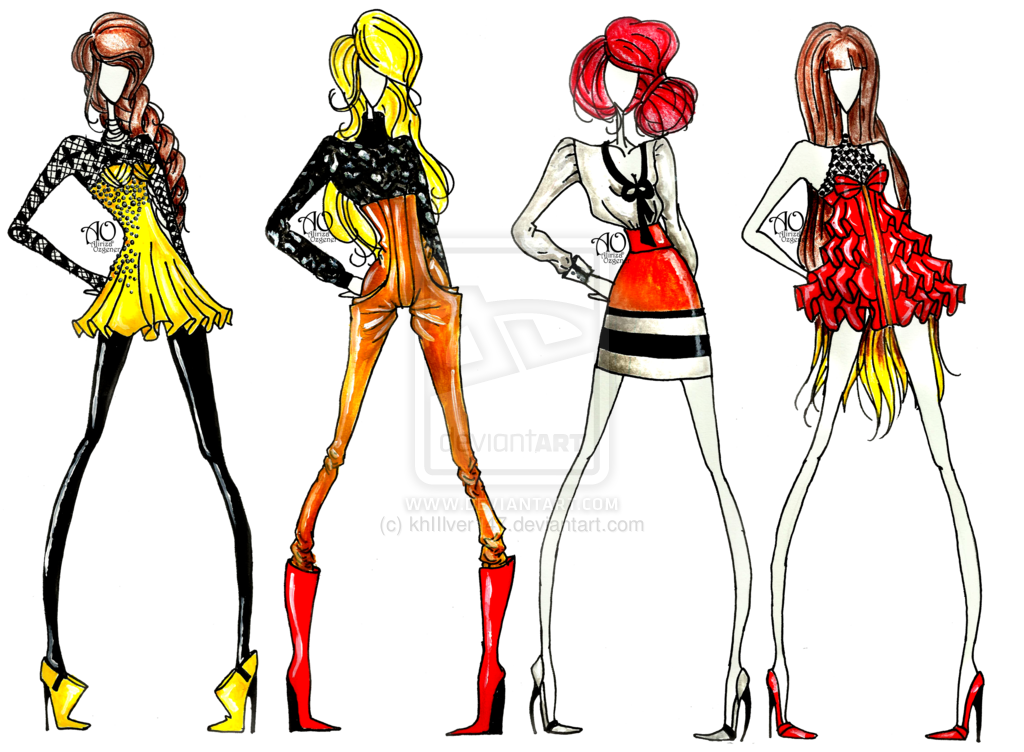 Fashion clipart fashion trend. This summer dress is
