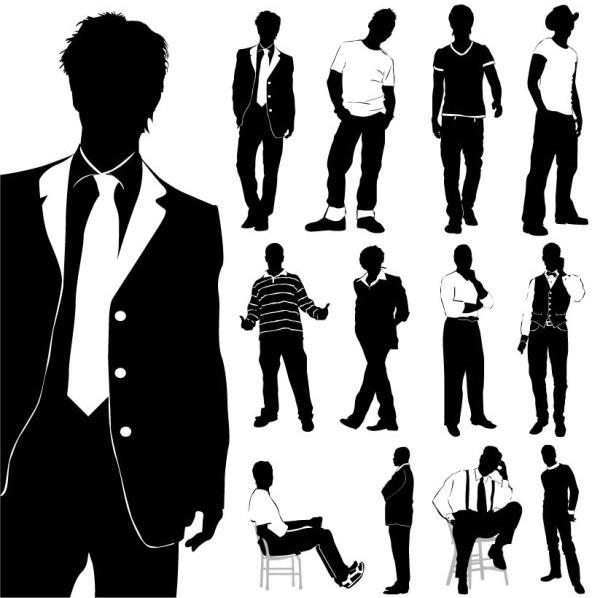 Fashion clipart gents. Men station