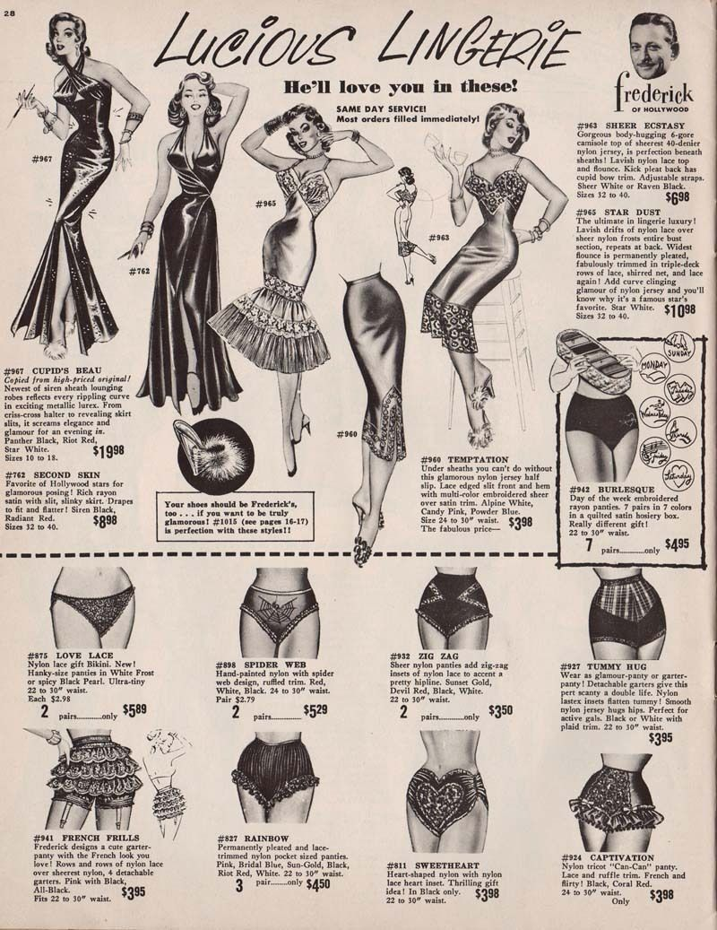 Fashion clipart hollywood vintage.  frederick s of
