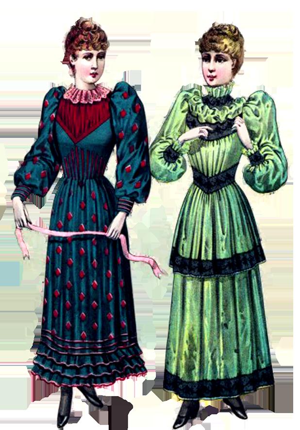 Steampunk clipart person. Victorian clip art two