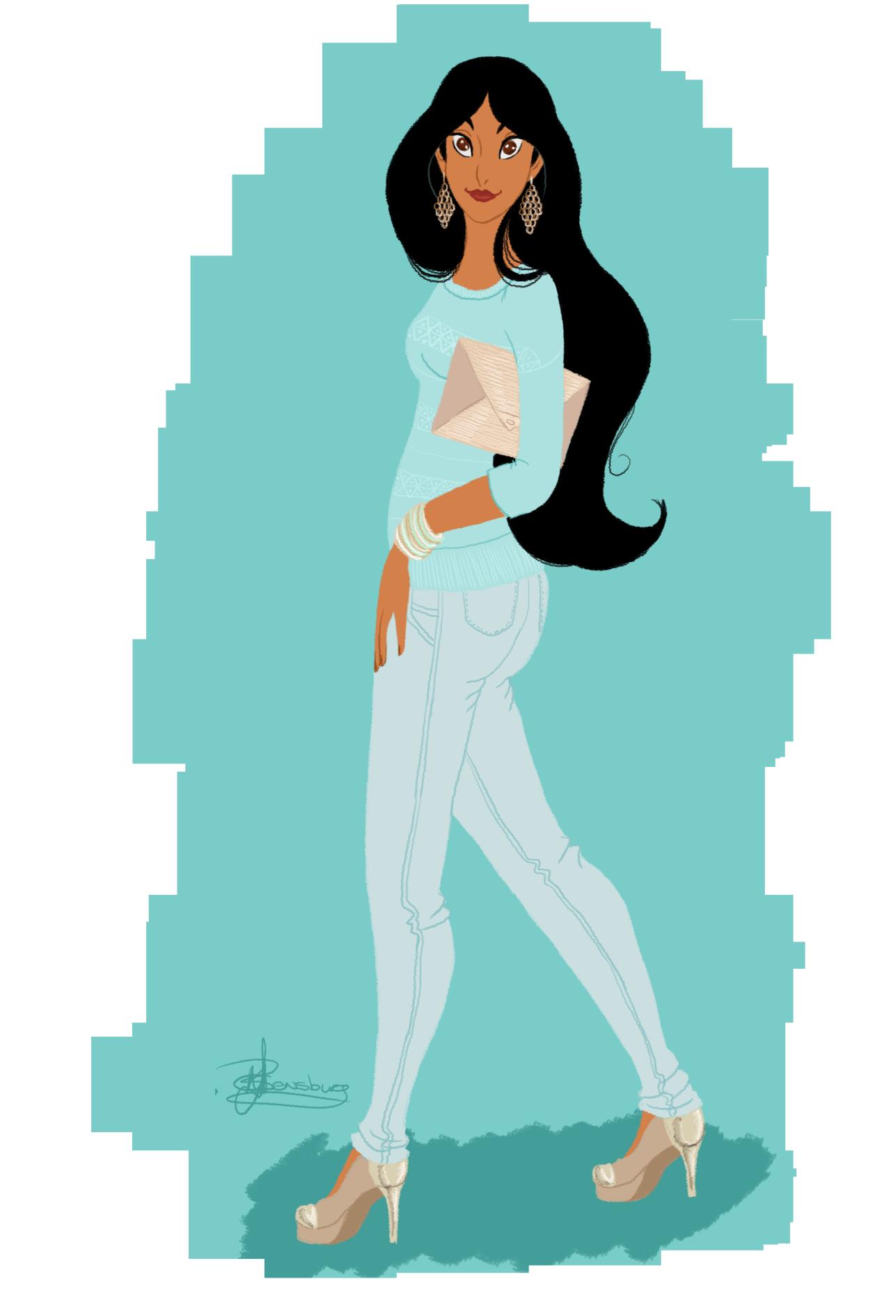 Jasmine tella in sa. Fashion clipart modern girl