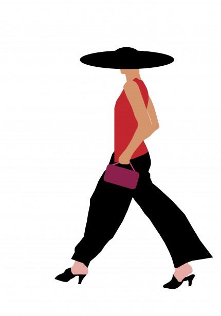 Woman free stock photo. Fashion clipart public domain