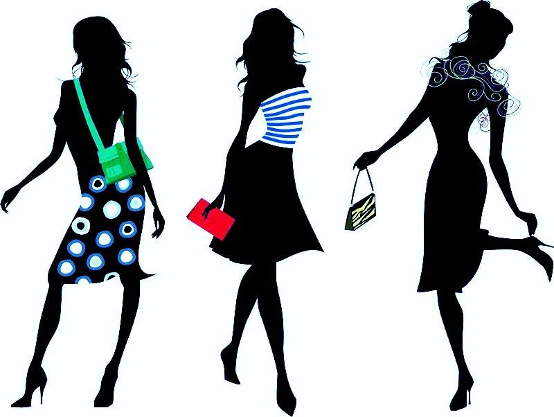 Free cliparts download clip. Fashion clipart style