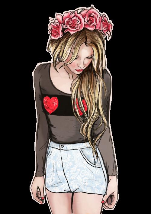 Amazing drawing via be. Fashion clipart tumblr fashion