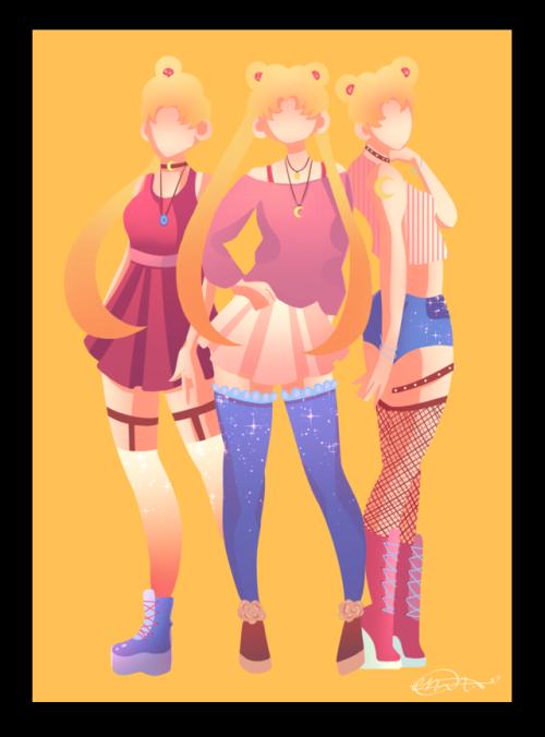 Fashion clipart tumblr fashion. Clip art sailor moon