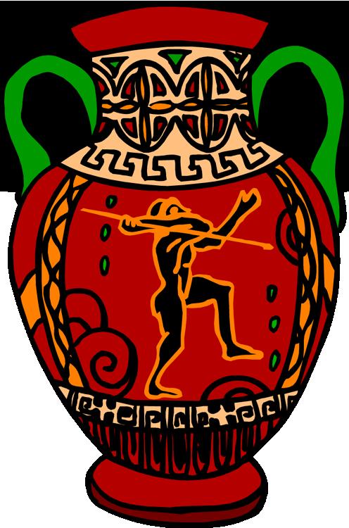 Latin ii vase image. Fast clipart adjective