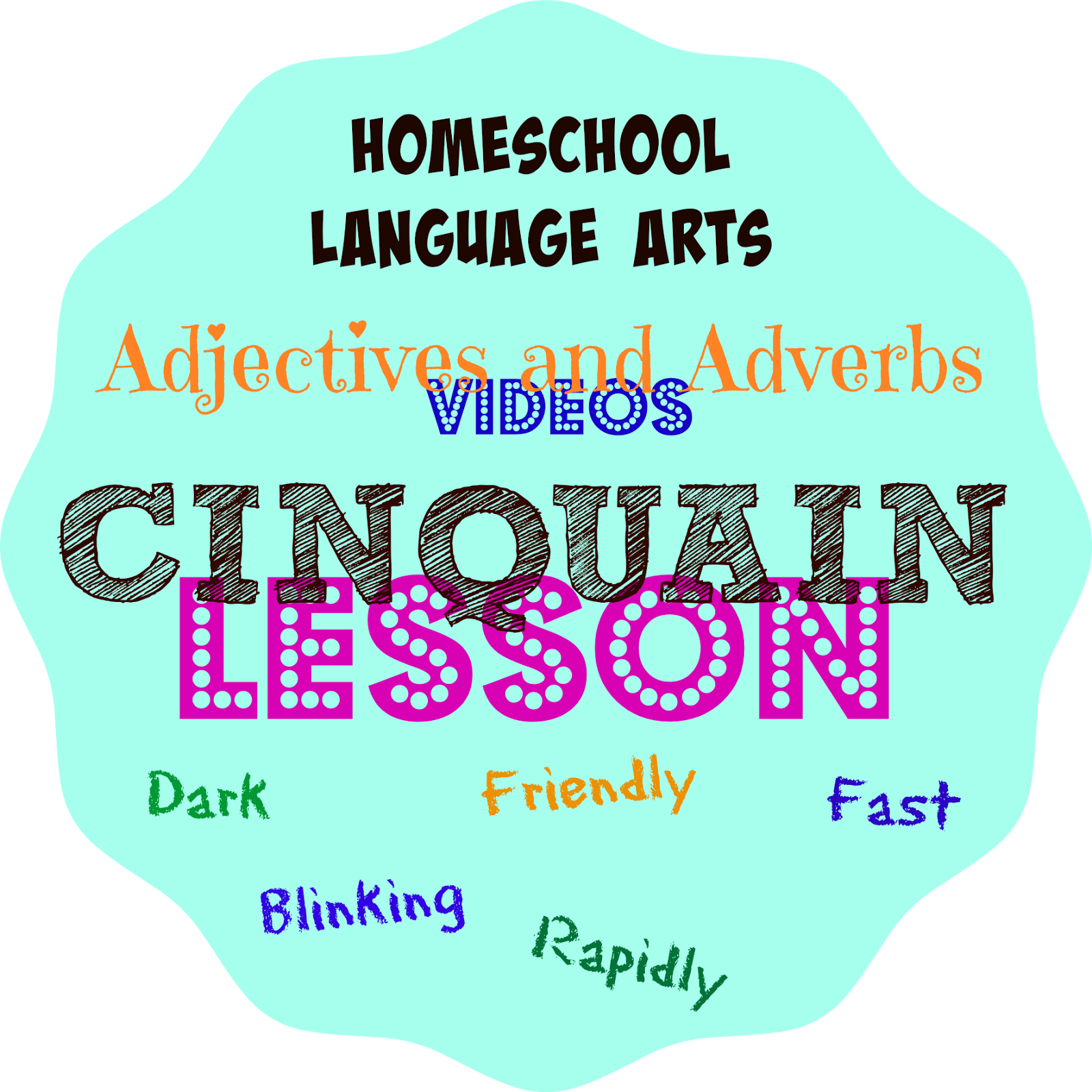 Fast clipart adjective. Cinquain poetry fun and