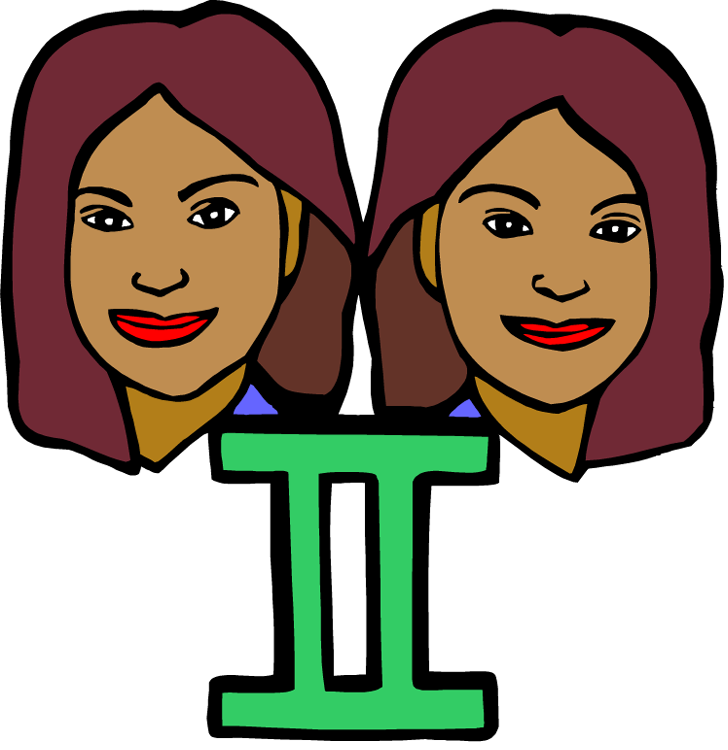 Latin ii two girls. Fast clipart adjective