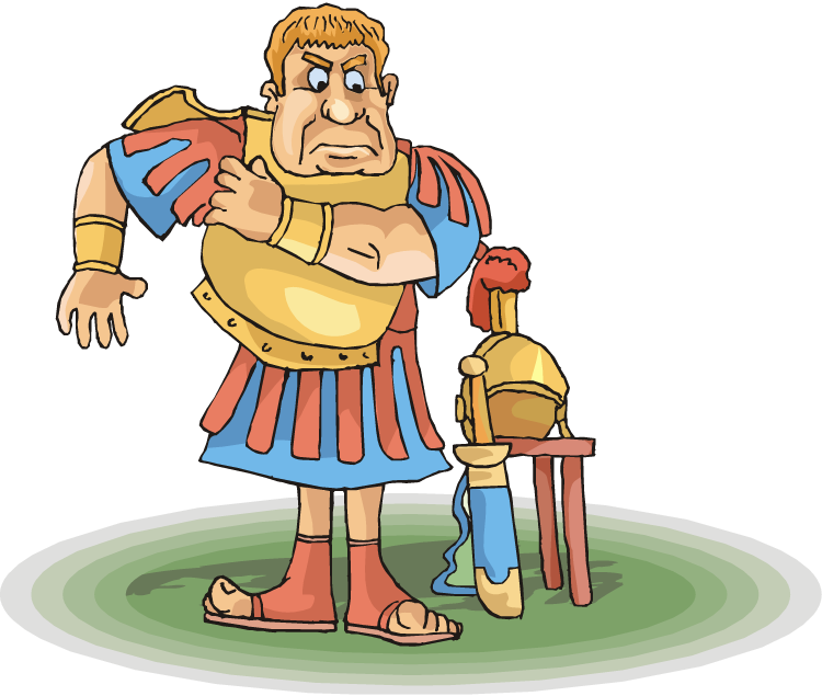 Latin ii roman soldier. Kind clipart adjective